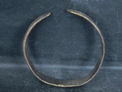 Ancient Bronze Bracelet Islamic 1300 AD No Reserve #BR1922 6