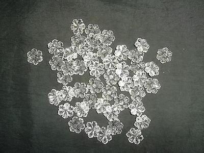Pretty 50 16mm glass snowflake chandelier drops(D142) 6