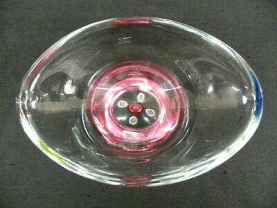 Vintage Pair of Stunning Art Glass Gorgeous Design Vases Murano Glass 6