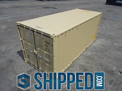 TUNNEL SHIPPING CONTAINER 20' DOUBLE DOORS SECURE STORAGE in Minneapolis, MN 6