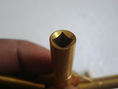 MASTER Key for all ANTIQUE CLOCK - BRASS -Total 10 type of Key HOLE in Two piece 6