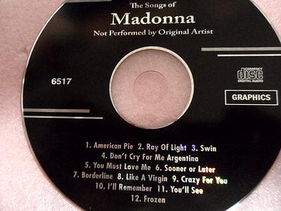 Backstage Karaoke CDG( lot of 16 CD G)  221 Songs 5
