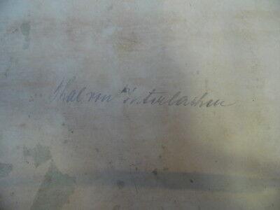 Thal von Interlaken kolorierte Lithographie von Joly aus Engelmann um 1830