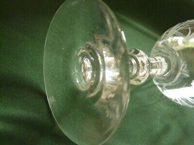 Juego de Seis Vasos de Vino de Cristal - Baccarat, Saint Louis ? 10