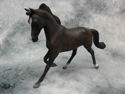 CollectA 88100 Black Arabian Stallion Model Horse Figurine Toy Animal NIP