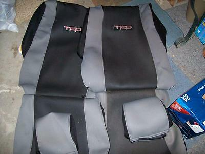 Trd sport seat covers toyota tacoma 2006 truck factory oem new 3 of 7 trd sport seat covers toyota tacoma 2006 truck factory oem new pt2183505201 publicscrutiny Images