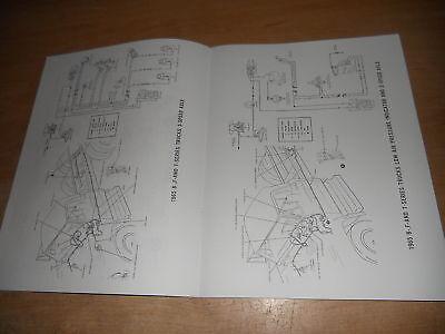 1965 Ford F450 F550 F650 F750 Wiring Diagrams Manual 2