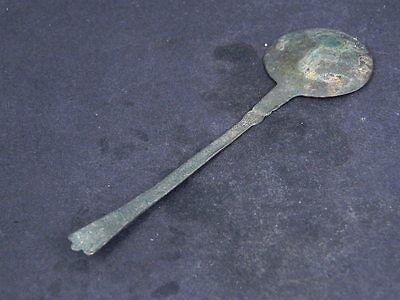 Ancient Bronze Spoon Islamic 1300 AD #GL1610 4