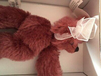 Bears Nice Annette Funicello Razzbeary Blizzard Mohair Bear Bean Bag Collection Dolls & Bears