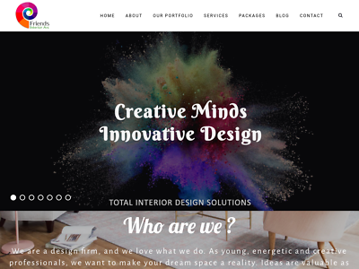 Website Web Design Four pages Web Site Design