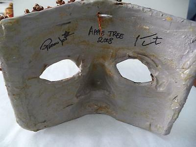 Carnival of Venice Mask - Apple Tree 2008 signed 7