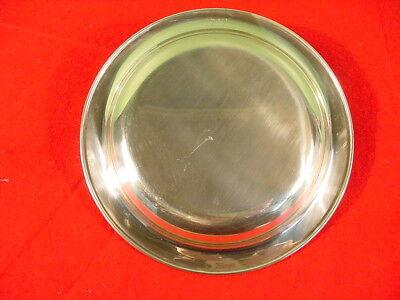 Norman Rockwell Sterling Silver Franklin Mint Plate 1971 Under the Mistletoe 3