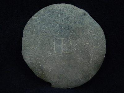 Ancient Stone Cosmatic Tray Gandhara/Gandharan 100 AD #STN834 4