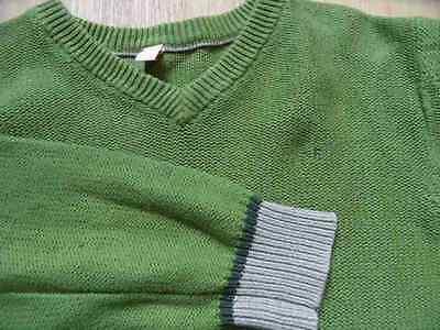 ESPRIT schöner Pullover grün Gr. 164 TOP SP517 2