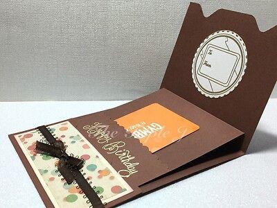 Handmade Birthday Card Gift Card Holder 499 Picclick