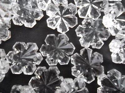 Pretty 50 16mm glass snowflake chandelier drops(D142) 9