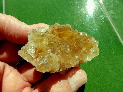"Minerales "" Fantasticos Cristales Fluorescentes De Fluorita(Asturias) -  9A18 "" 8"
