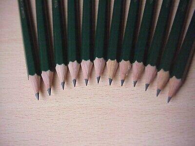 12 x Faber Castell 9000 Pencils F H 3H 4H 5H 6H for Artists & Illustrators Draft 4