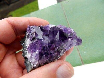 """Minerales """" Extraordinarios Cristales De Amatista De Uruguay  -  1L17 """" 2"""