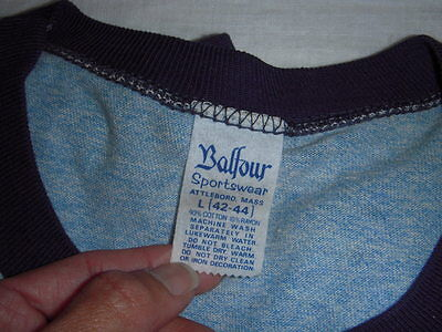 Vintage Have A Nice Day '74 Keep On Streakin Ringer T Shirt Men L Mint 5