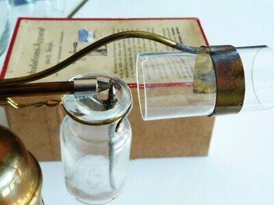 Museales antikes Inhaliergerät,Inhalier-Apparat nach Siegle,ca.1875-1890,selten 4