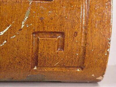 Antique Sconce Hand Carved Architectural Wood Bracket Art Deco Corbel Pediment 10
