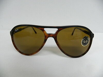 16382f22ad ... real 3 of 4 new vintage bl ray ban traditionals style a black tortoise  b 15 ...