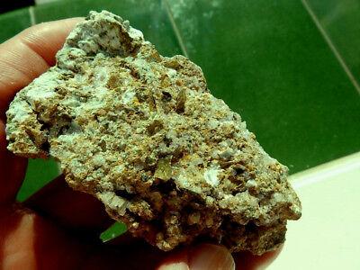 """Minerales """" Excelentes Cristales De Titanita De Marruecos  -  10B18 """" 11"""