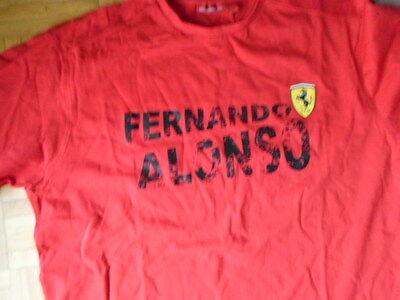 Ferrari T-Shirt Alonso Gr. 54
