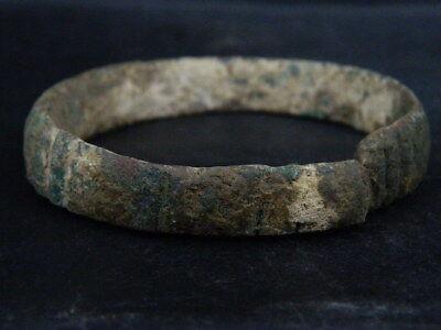 Ancient Bronze Bracelet Roman 200 BC No Reserve #BR7465 3