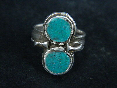 Antique Silver Ring With Stones 1900 AD  #STC176 2 • CAD $31.76