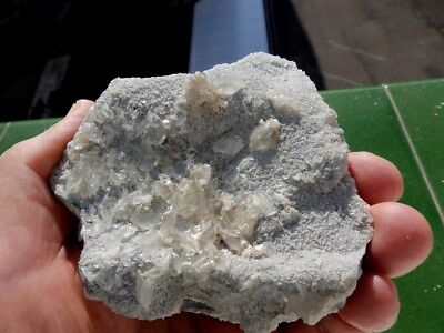 "Minerales "" Bonitos Cristales Fluorescentes De Fluorita Mina Moscona - 10B17 "" 12"