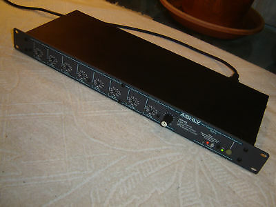As Pictured Ashly VCX-80 Eight Channel VCA Master Limiter Rack Mount