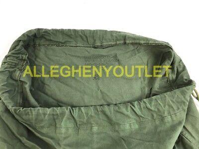 US Army Military Barracks Bag, Cotton Large Laundry Duffle Tote Storage Bag FAIR 8