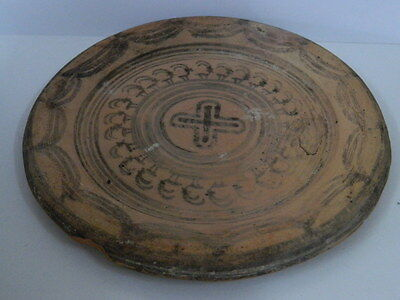 Ancient Teracotta Painted Plate With Animals Indus Valley 2500 BC  #P 7