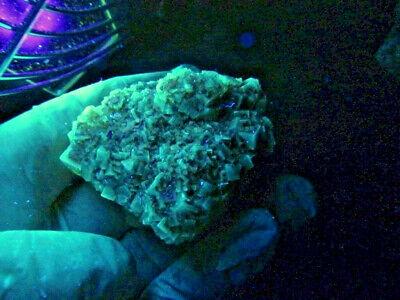 "Minerales "" Fantasticos Cristales Fluorescentes De Fluorita(Asturias) -  8B18 "" 2"