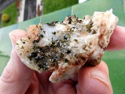 """Minerales"""" Extraordinarios Cristales Arracimados De Epidota De Marruecos-12B17 """" 4"""