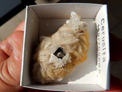 """Minerales """" Bonitos Cristales De Cerusita De Touissit (Marruecos)  -  6D16 """". 3"""