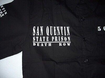 SAN QUENTIN HEMD SCHWARZ STATE PRISON BRAKE S M L XL 2XL 3XL 4XL 5XL DEATH RACE
