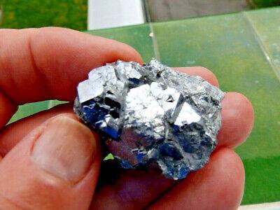 """Minerales """" Preciosos Cristales Cubicos De Skutterudita De Marruecos  -  1E19 """" 4"""