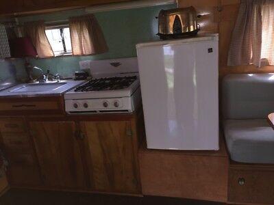 Vintage 1957 Beemer travel trailer Antique camper