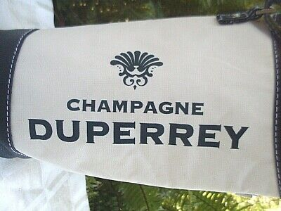 Quality DUPERREY CHAMPAGNE Insulated Wine Carry Bag w/ Adjust Strap ADVERTISING 2