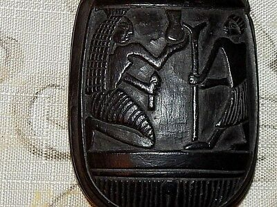 Egyptian Stone Carving. Rich with Symbolism. Mint Conditon. 10