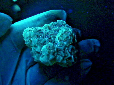 "Minerales "" Fantasticos Cristales Fluorescentes De Fluorita(Asturias) -  8B18 "" 12"