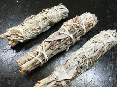 "White Sage Smudge Stick 4"" - 5""  2 pack, Herb House Cleansing Negativity Removal 2"