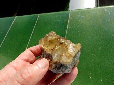 """Minerales """" Extraordinarios Cristales Cubicos De Fluorita De Marruecos - 2C19 """" 9"""