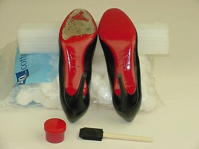 34d7dc54812c ... Red Touch Up Odorless Paint   Clear Sole Protector Kits for Christian  Louboutin 4