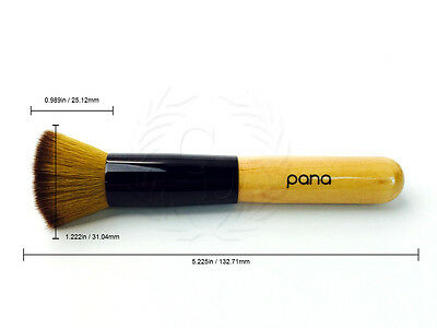 Pana Super Soft Professional Premium Quality Flat Top Foundation Makeup Brush 4
