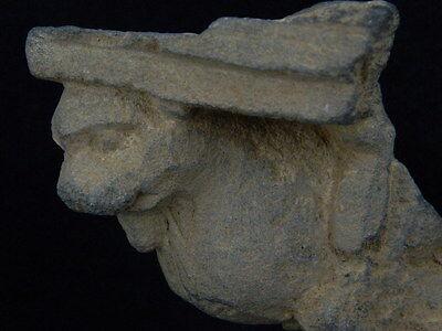 Ancient Stone Winged Lion Gandhara/Gandharan 100 AD No Reserve #STN385 6