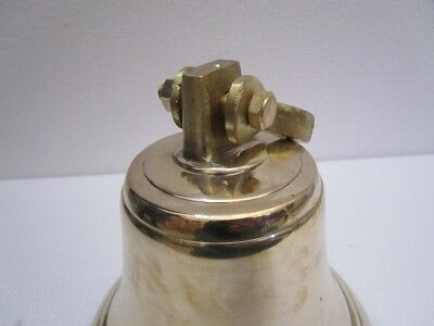 Brass BELL - Brass Made - 4 Kilo - Great Sounding -Boat / Nautical / Maritime 3